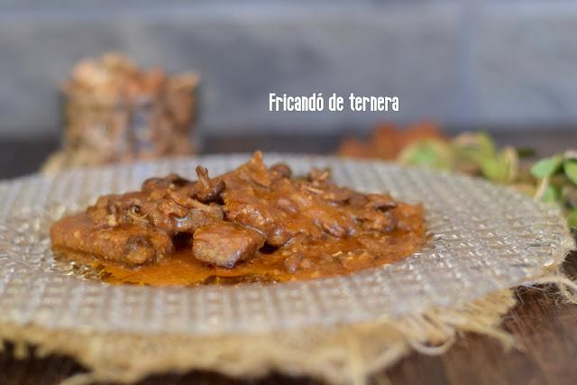 receta de fricandó