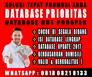 Jual Database Nasabah Bank Seindonesia