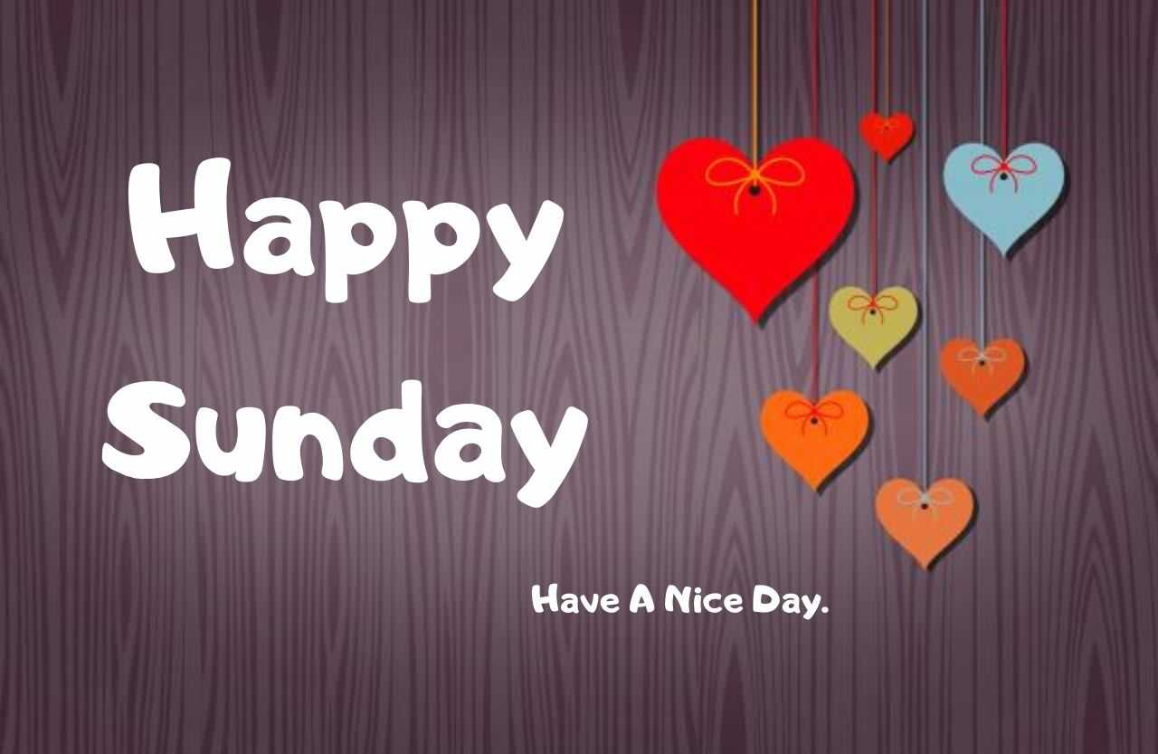 Happy Sunday Wallpaper HD Download