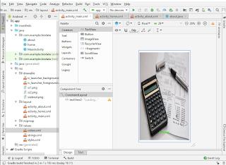 Contoh Aplikasi Kalkulator Android Studio Sederhana