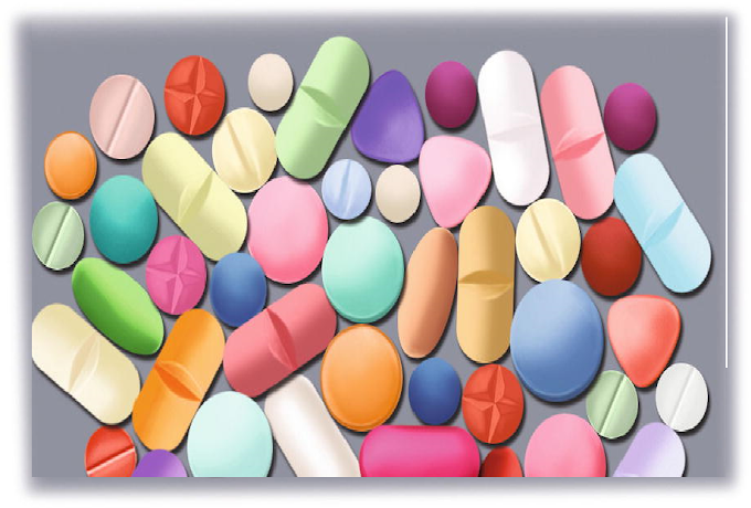 Pharmaceutical tablets dosage forms