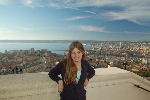 Marseille church view