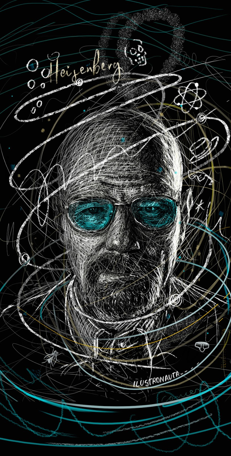 Fan Made Heisenberg Mobile Wallpaper