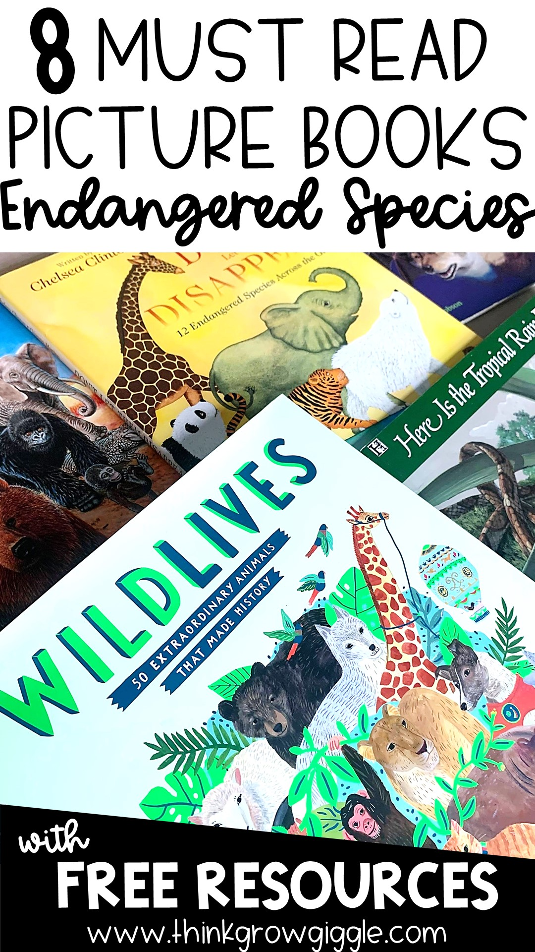 endangered animal books for kids