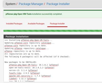 โปรพอประมาณ: PfSense : ติดตั้ง VMware Tools PfSense ON VMWare Esxi 6 5