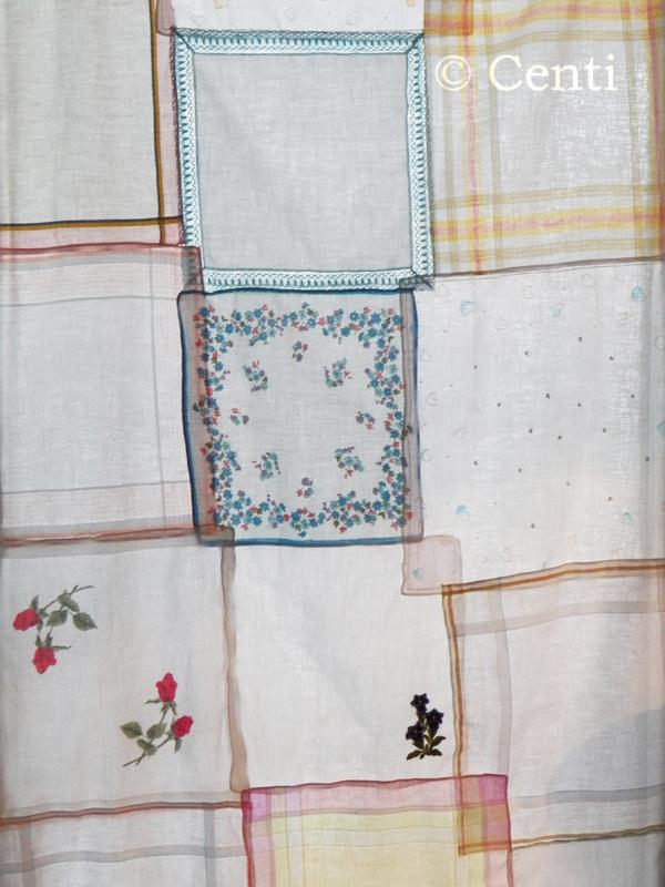 Centi bastelt: Taschentuch-Patchwork - ein Versuch