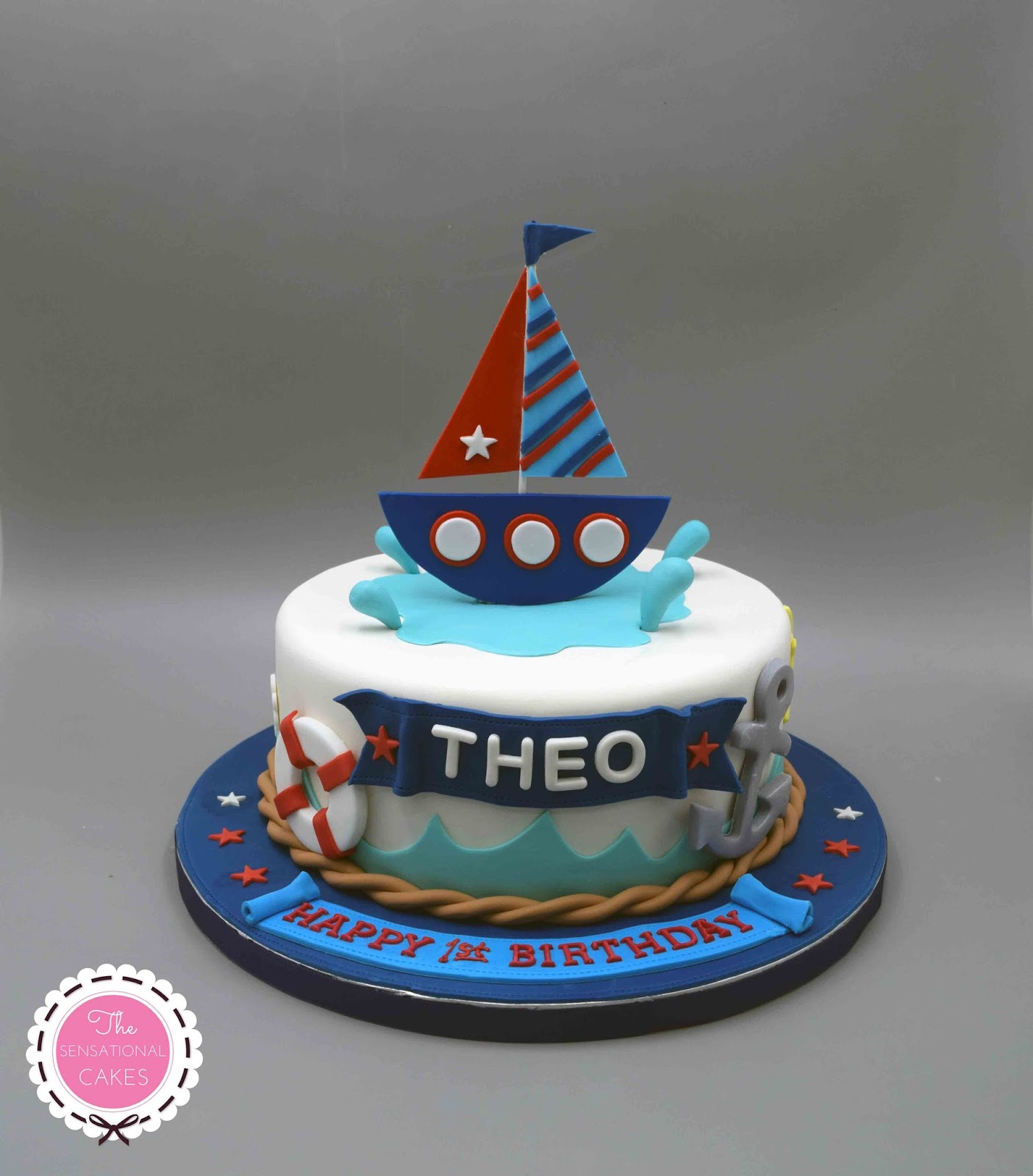The Sensational Cakes Sailor Theme 3d Concept Birthday Cake