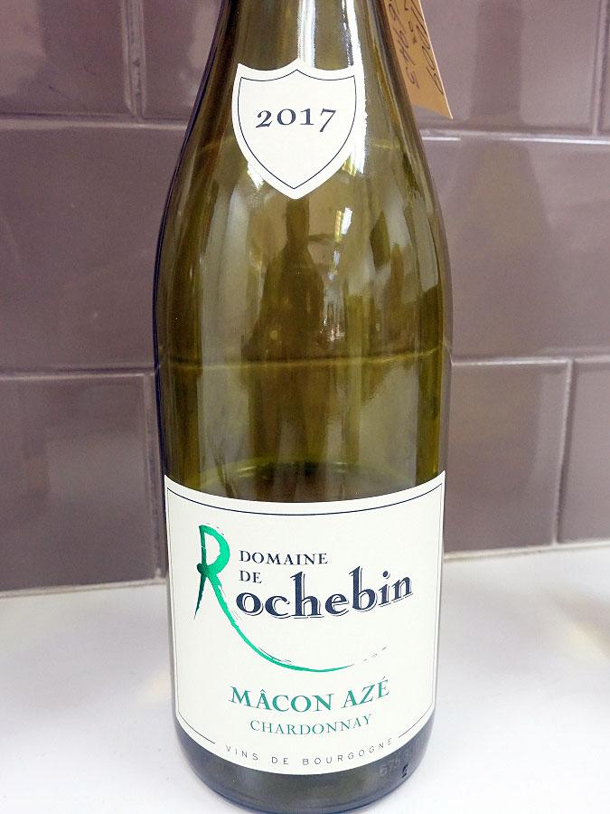 Domaine de Rochebin Chardonnay Mâcon-Azé 2017 (88 pts)