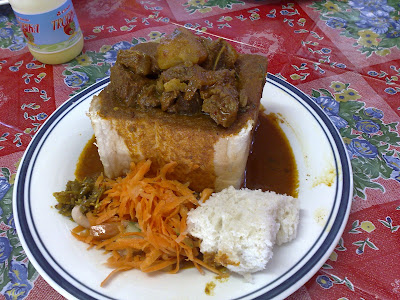 a delicious bunny chow