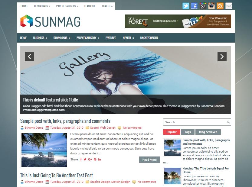 SunMag Blogger Template                                                                                   http://blogger-templatees.blogspot.com/2016/06/sunmag-blogger-template.html
