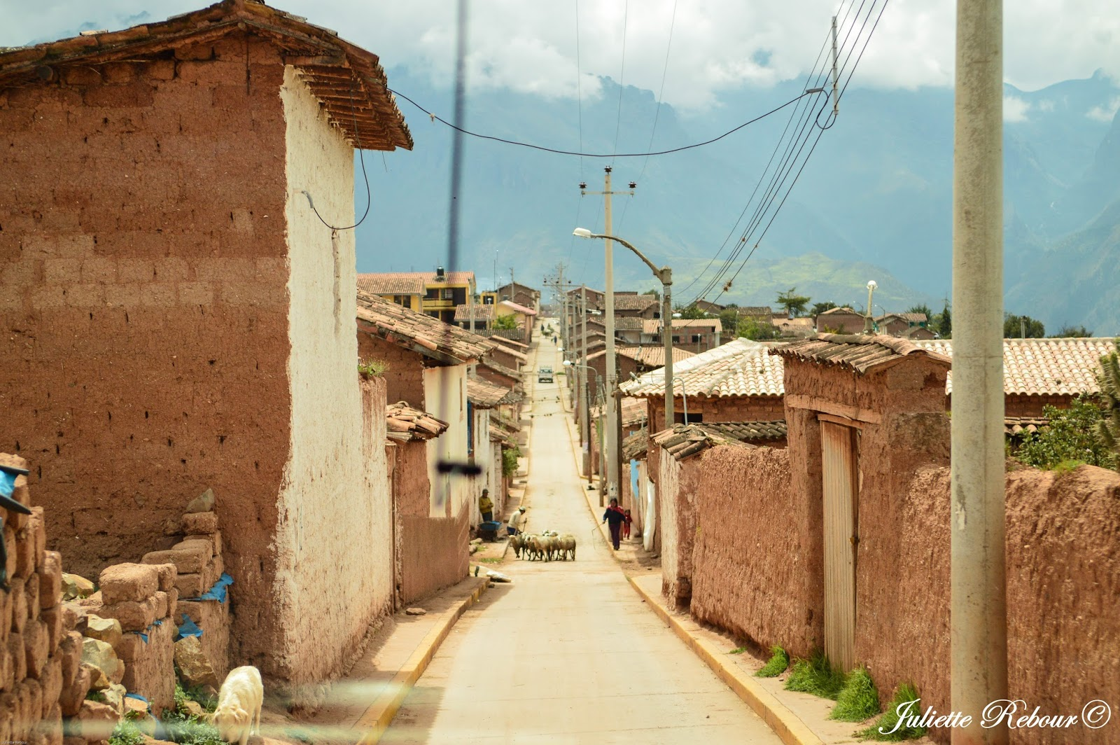Village au Pérou du Sud