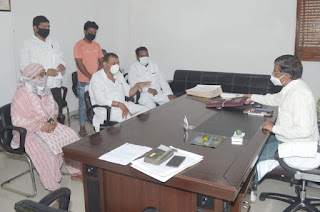 70 वर्ष से रहने वालों को बेदखली का नोटिस कांग्रेस ने जताया विरोध