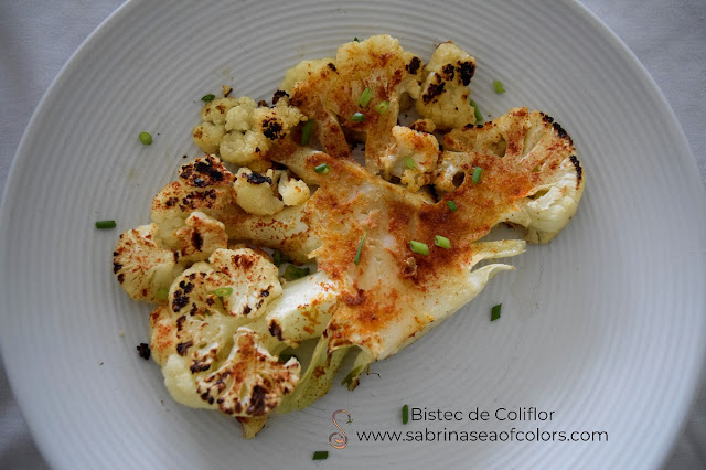 Bistec de coliflor