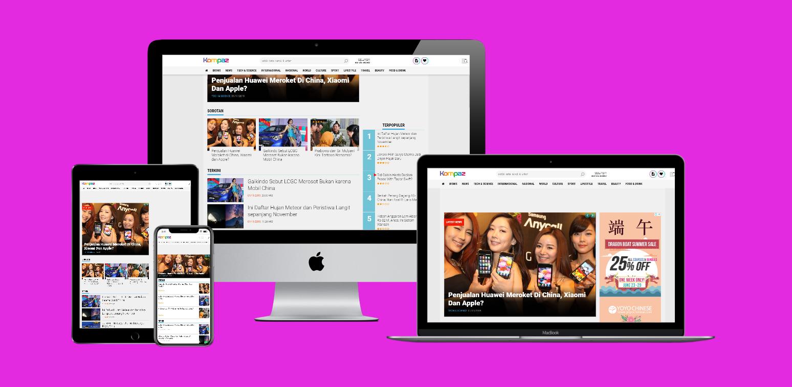 Kompaz News Premium Blogger Template