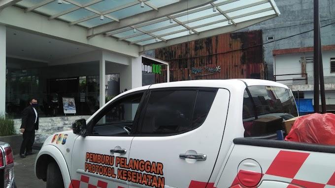Tim Sat Gas Percepatan Penanganan Covid -19 Kabupaten Jember Rutin Pantau Titik Rawan Kerumunan
