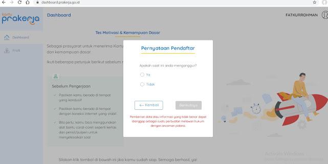 Cara Mendaftar Kartu Prakerja