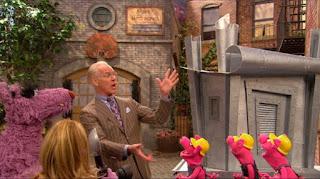 The Big Bad Wolf, Three Little Pigs, Mr. William Bill Ding, Tim Gunn, Sesame Street Episode 4319 Best House of the Year season 43