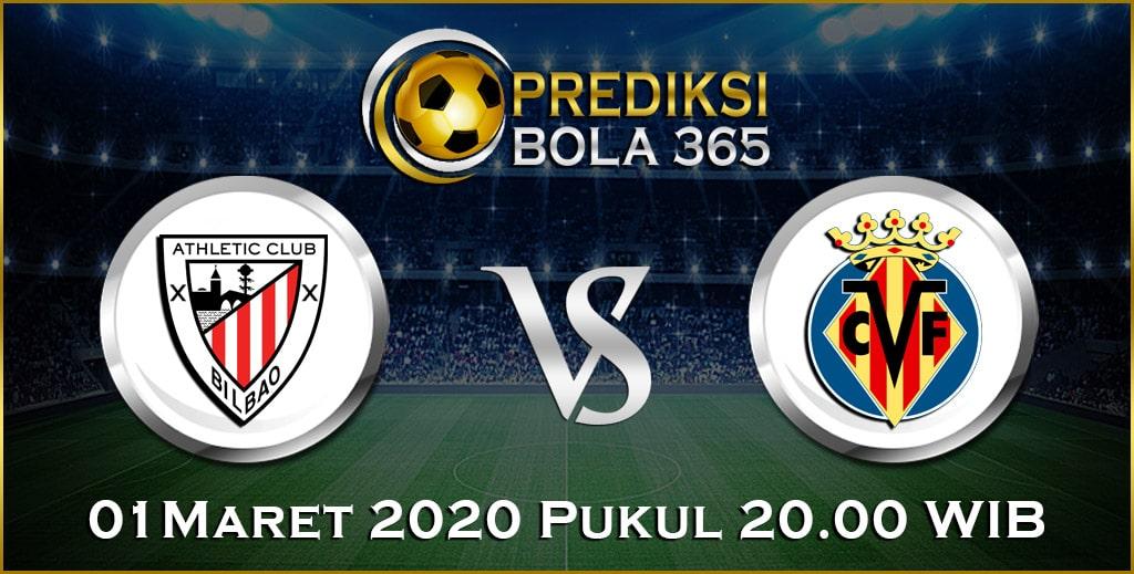 Prediksi Skor Bola Ath.Bilbao vs Villarreal 01 Maret 2020