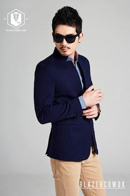 blazer cowok blazercowok.com jaket korean jas pria sk82 c