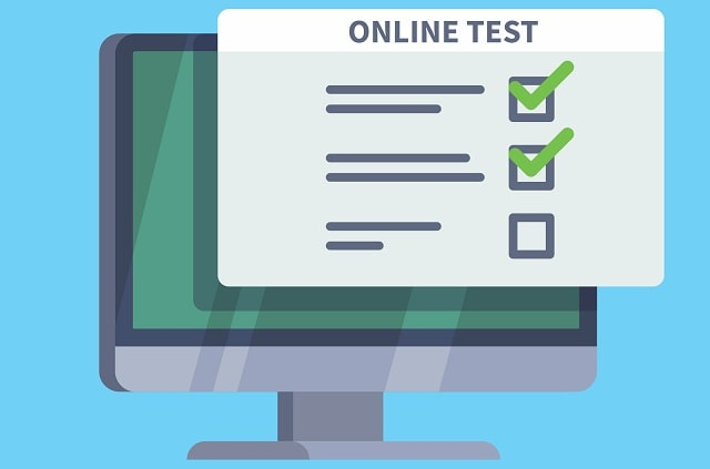 how to i mark my exam papers online test marking