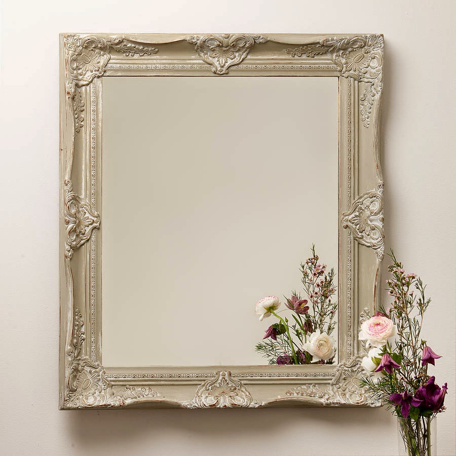 10 espejos vintage para una decoraci n de poca for Espejo vintage plateado