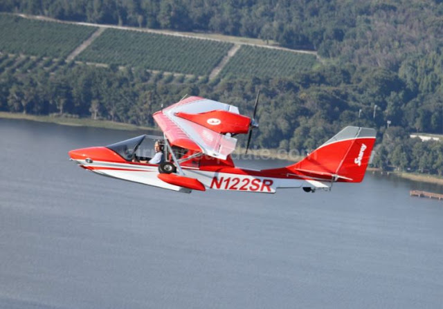 Searey Elite amphibian light sport aircraft