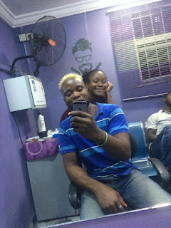 Meet Female and Talented Barber Charles Anita; Says She Can't Wait For Davido To Visit Her Salon