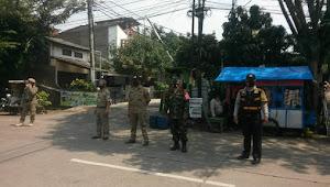 Satgas Penanganan Covid-19 Kelurahan Cipadung Kidul Kecamatan Panyileukan Laksanakan PPKM Secara Mikro