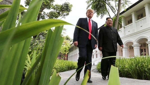 Cumbre con Kim Jong-un evitó potencial catástrofe nuclear, según Trump