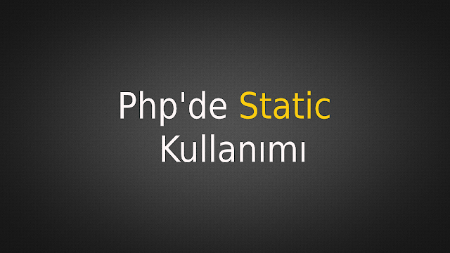 php static