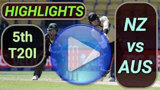 NZ vs AUS 5th T20I 2021