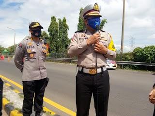 Hari ke-31 Operasi Ketupat Kalimaya, 207 Unit Kendaraan Mudik di Putarbalikan Polisi