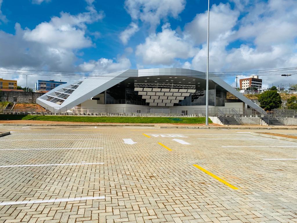 Espaço João Paulo II, no Centro Administrativo, será concluído neste primeiro semestre