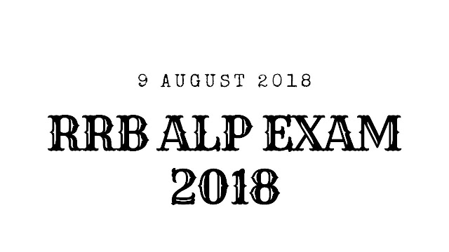 RRB Railway ALP 9 August 2018 Questions asked in the Exam