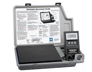 Darmatek Jual Robinair TIF9020A Slimline-Refrigerant Scale 100kg