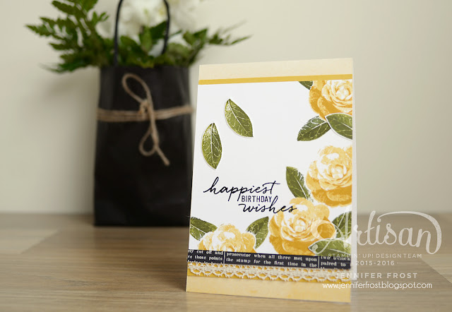 #TGIFc50, Picture Perfect, Watercolor Wishes, Papercraft by Jennifer Frost, Perfectly Artistic DSP