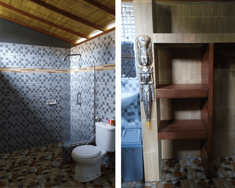 toilet lembongan tropical guest house