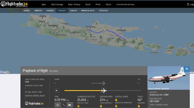 Jejak Pesawat Antonov yang Diduga Sumber Suara Misterius di Pantura