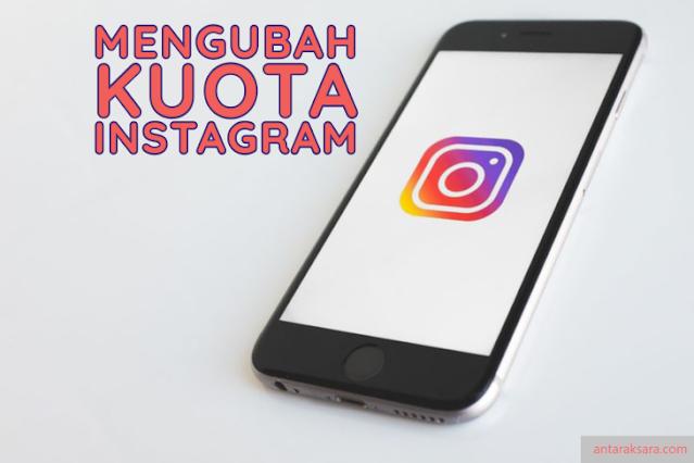 Mengubah Kuota Instagram By.U