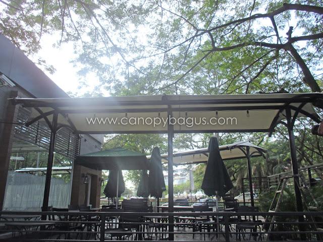 tenda membrane awning