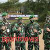 Danrem 141/Tp Brigjen TNI Djashar jamil,S.E, M.M Mengikuti Apel Dansat Tersebar Kodam XIV/Hsn TA. 2020