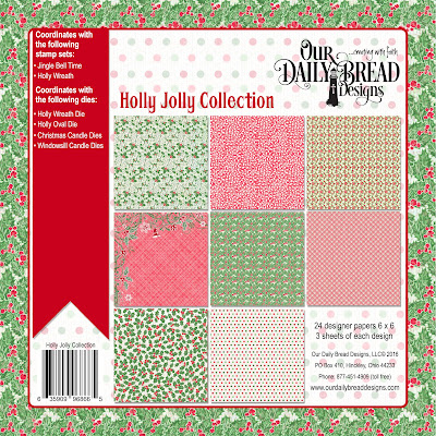 Our Daily Bread Designs Paper Collection: Holly Jolly