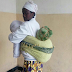 This WOMAN was caught red handed transporting BHANG worth millions disguised as a baby on her back(PHOTOs)