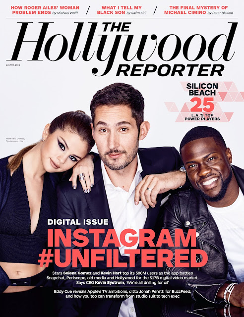 Actress, Singer, @ Selena Gomez - The Hollywood Reporter July 2016