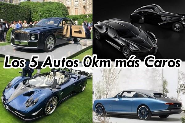 Los 5 autos 0 km más caros del mundo