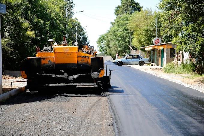 GRAVATAÍ | Prefeitura investe no asfaltamento da rua Tobias Barreto