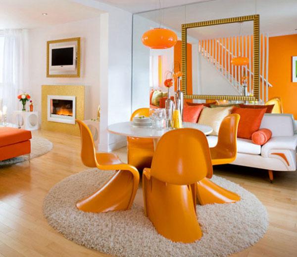 Colorful Outdoor Rooms: لون الغرفة وتأثيره على الحالة النفسية لأفراد المنزل