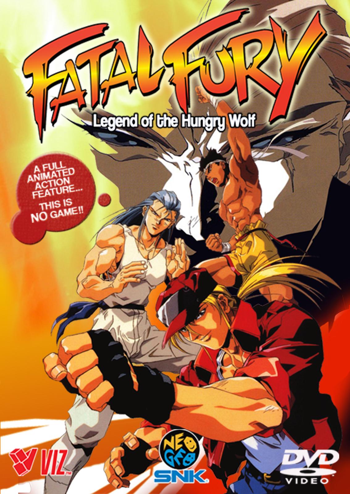 Fatal Fury: Filme 01 – Rei dos Lutadores – Dublado