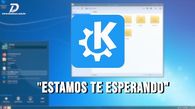 KDE Community quer facilitar a vinda dos usuários do Windows 7 ao Linux