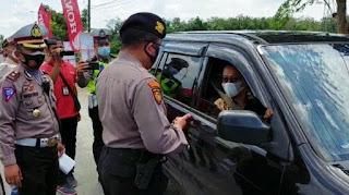 Penyekatan Mudik 2021, Hitungan Jam, Ratusan Kendaraan di Jalinsum Deliserdang Disuruh Putar Balik